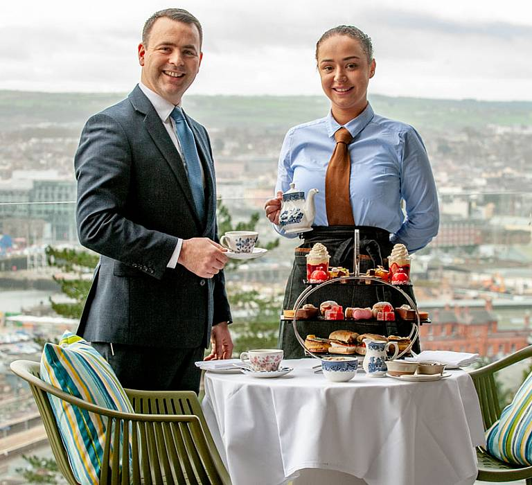 MONTENOTTE AFTERNOON TEA CELEBRATES ALL THINGS CORK